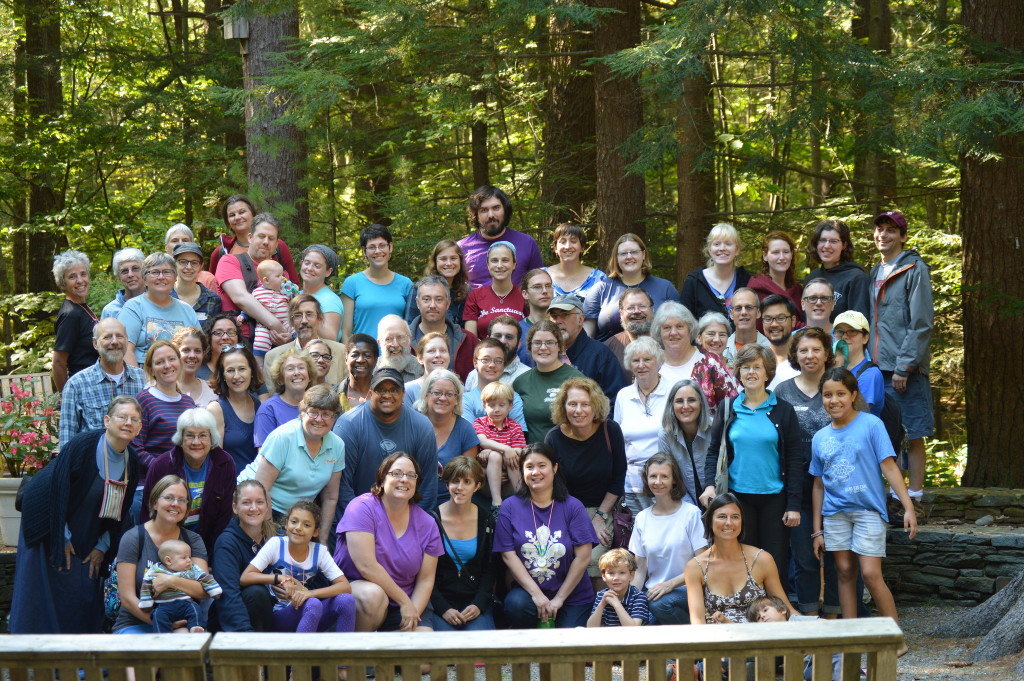 First Parish Retreat Group Photo - September 2014
