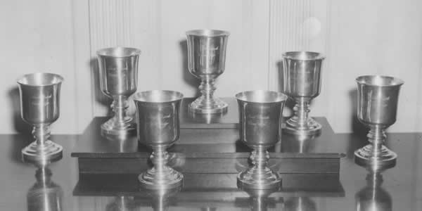 First Parish Silver: Standing Cups