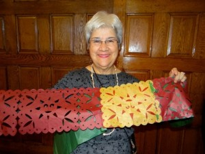 Rev. Lilia Cuervo prepares for Day of the Dead
